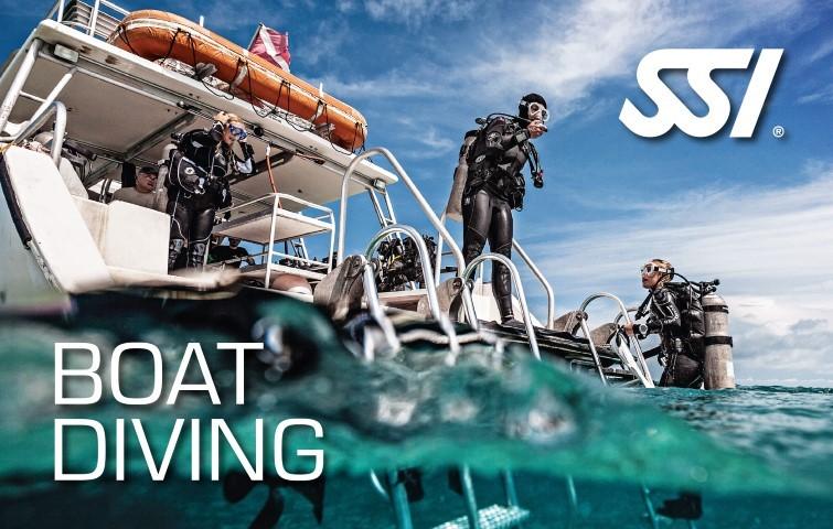 boat diving scuba